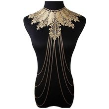Lace Body Jewelry Chain Body Necklace