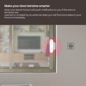 Image 4 - Akıllı pencere kapı alarmı WiFi kapı pencere sensörü akıllı ev güvenlik Tuya APP kontrolü uyumlu Amazon Alexa Google ev IFTTT