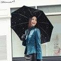 Yamala Umbrella rain women Fully-automatic Umbrella Anti UV Parasol Ultral-Light 3 Folding Umbrella For Travel Meteor showers