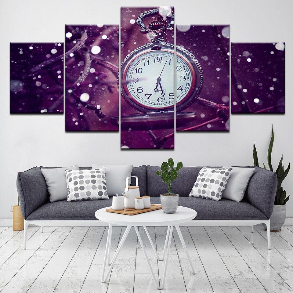 Часы модульные настенные арт постеры