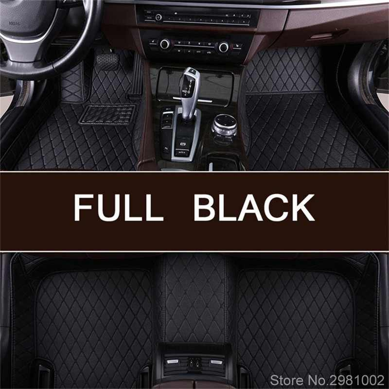 Custom car floor mats for Cadillac all models SRX CTS Escalade ATS ATSL XTS CT6 SLS XT5 CT6 auto accessories stylingCustom car floor mats for Cadillac all models SRX CTS Escalade ATS ATSL XTS CT6 SLS XT5 CT6 auto accessories styling