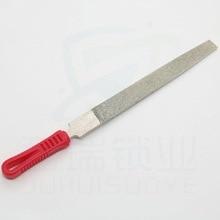 Алмазный плоский напильник высокого качества с 6 дюймов 8 дюймов 10 дюймов зуб слесарный инструмент для дублирования ключей