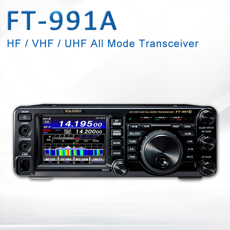 Applicable To Yaesu FT-991A HF / VHF / UHF Full-Mode Full-Band Digital Shortwave 100W Power Car Radio Transceiver