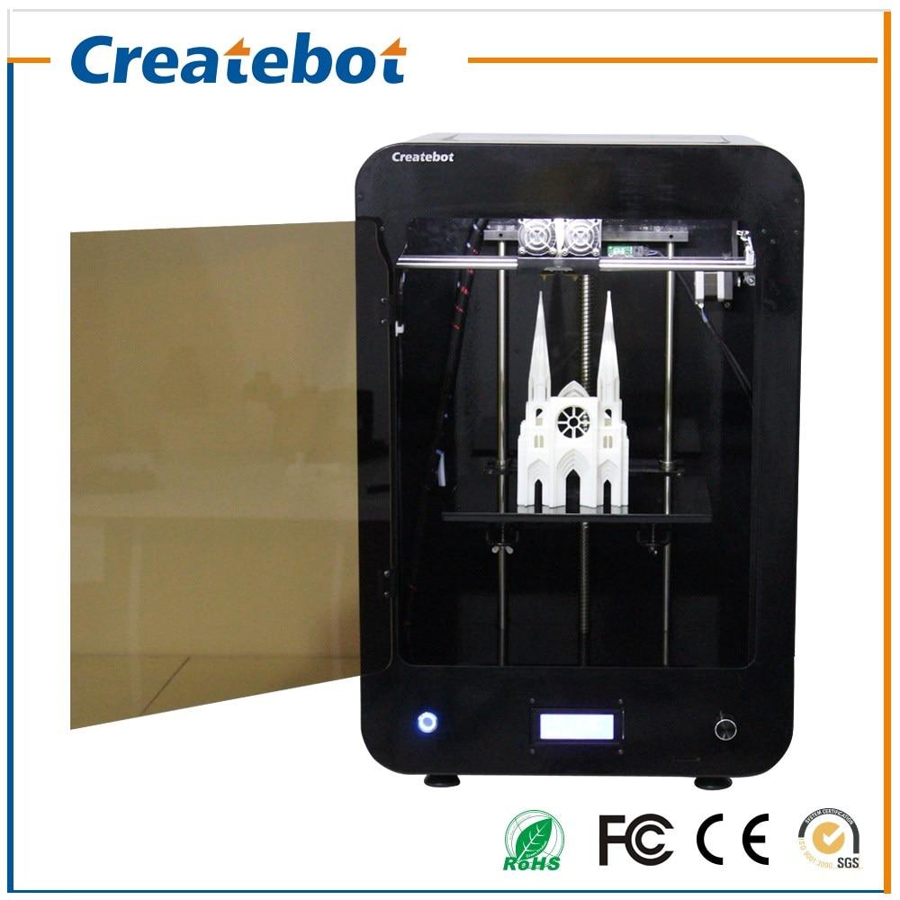 где купить Createbot MAX 3d Printer Dual Extruder Full Metal Enclosed Design LCD Display Big Printing Size 280*250*400mm For Education&Art по лучшей цене