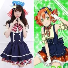 Japanese font b cosplay b font costumes LOVE LIVE candy color font b cosplay b font