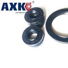 axk 20x45x7 mm 36x46x7 mm tc oil shaft simmer ring rotary shaft seal nitrile seals buna n basl rubber gasket AXK 35x58x7/8/10/12  35x64x12 Nitrile Rubber NBR Two Lip Spring TC Gasket Radial Shaft Skeleton Oil Seal