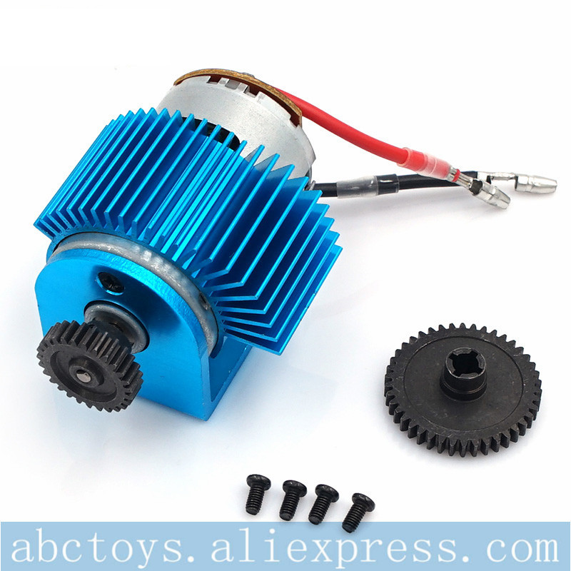 Wltoys A959 A969 A979 K929 Upgrade alloy gear motor Speed RC car Parts Amount+540 Motor Electric Engine Metal Gear 27T Reduction