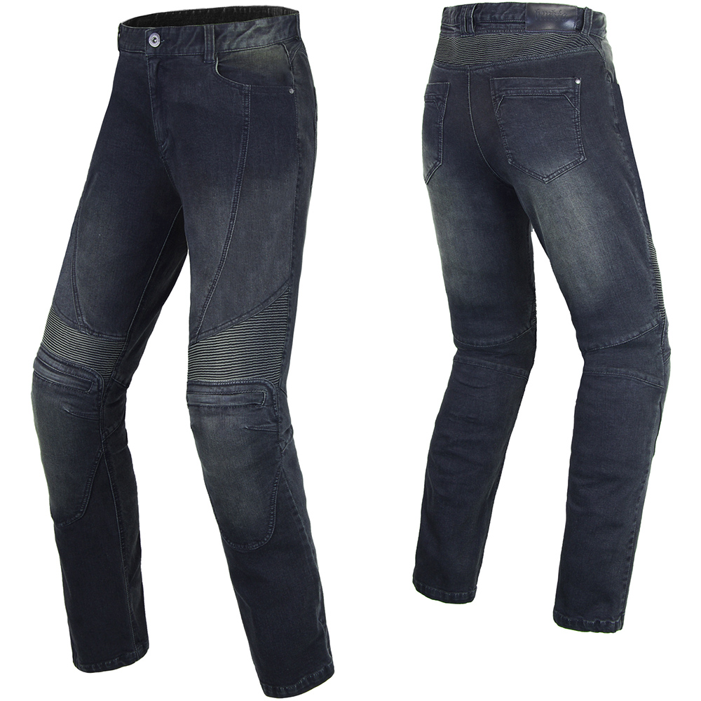 BENKIA Motorcycle Pants Trouser Denim Riding Motorcycle Jeans Men Cafe Racer Street Cruiser Motorbike Pantalon Moto Pants Armor japan style brand mens straight denim cargo pants biker jeans men baggy loose blue jeans with side pockets plus size 40 42 44 46