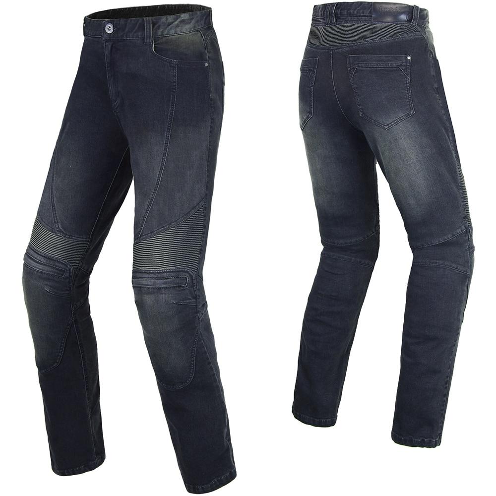 Benkia мотоциклетные штаны джинсовые мотоциклетные джинсы Для мужчин Кафе Racer улице крейсер мотоцикл Pantalon мото брюки Броня