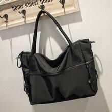 Нейлоновая Водонепроницаемая женская сумка с одним ремнем на плечо, модные женские сумки-мессенджеры
