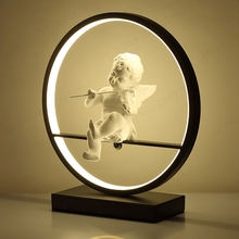 Современная настольная светодиодная лампа, круглые акриловые декоративные лампочки для дома, спальни, гостиной, прикроватное освещение