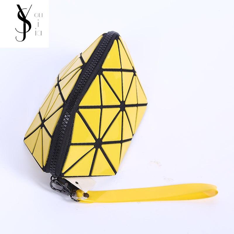 Fashion Isey Miyake PU Leather Cosmetic s
