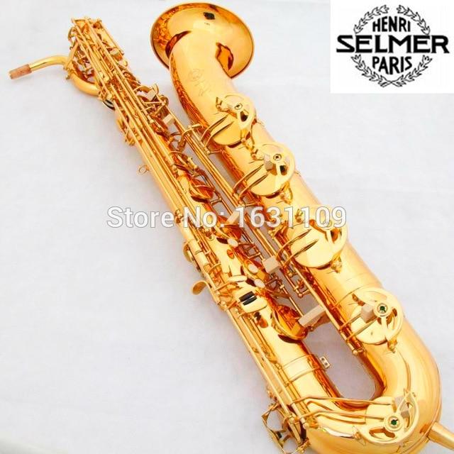 Cheap Free Shipping France Selmer Baritone Saxophon Gold 54 Professional Eb Mouthpiece Sax saxophone  #60