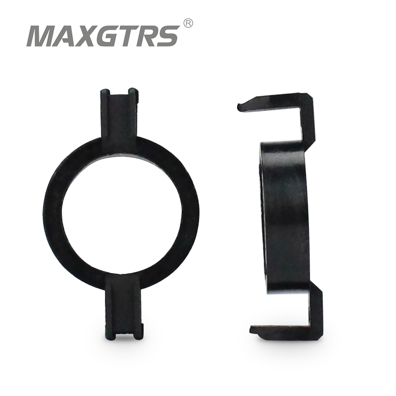 <font><b>H7</b></font> <font><b>LED</b></font> Clip Retainer Adapter Holder for Ford New Mondeo for <font><b>Peugeot</b></font> 508 <font><b>2008</b></font> 3008 <font><b>H7</b></font> <font><b>LED</b></font> Headlight Bulb Adaptor Base for Citroen image