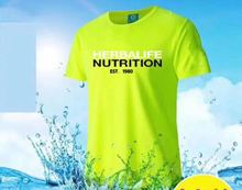 Herbalife 2019 new short-sleeved mens and womens youth clothing summer jersey clothes
