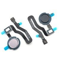 20 pçs/lote  novo sensor de impressão digital casa retorno chave menu botão flex cabo fita para asus zenfone 5 ze620kl 6.2