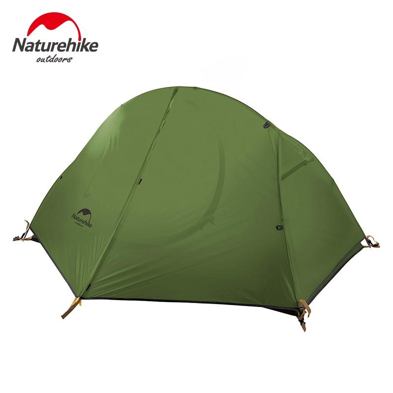 Naturehike открытый одиночный Сверхлегкий тент двухслойный Профессиональный кемпинг езда дикая палатка анти шторм - 2