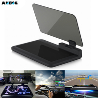 Universal H6 Smartphone Projector HUD Head Up Display Holder Car GPS Navigator Car Mount Stand Phone