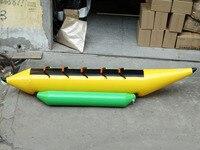 Воздушный насос, надувная морская летающая рыба, надувная вода, летающая Банановая лодка