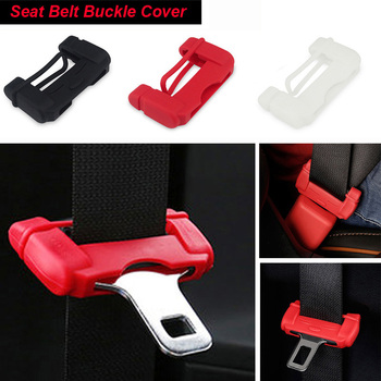 2x Car Seat Belt Buckle Silicon Protector Cover For BMW m3 m5 e46 e39 e36 e90 e60 f30 e30 e34 f10 e53 f20 e87 x3 x5 image