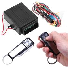 Universal Car Remote Central Kit Door Lock Locking Vehicle Keyless Entry System with Remote Controllers 12V Car Alarm System