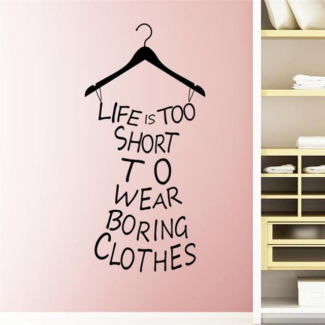 Aliexpresscom  Buy Clothes Tree Wall Stickers Wardrobe - How to make vinyl decals for clothing