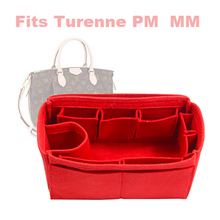 For Turenne PM MM Purse Insert Organizer - Premium Felt (Handmade/20 Colors)