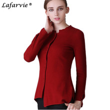 Free Shipping Irregular asymmetric lady cashmere cardigan womens sweater two colors size S M L XL XXL