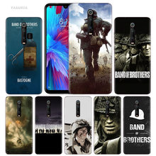 Band Of Brothers Case for Xiaomi Redmi Note 7 7S K20 Y3 GO S2 6 6A 7A 5 Pro MI Play A1 A2 8 Lite Poco F1 Silicone TPU Phone Bags(China)
