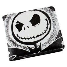 New The Nightmare before Christmas Jack Skellington Cartoon Wallet Purse Bag Gift