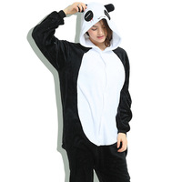 Totoro Stich Hello Kitty Panda Adult Pajamas Anime Cosplay Costumes Women Animal Pyjama Sets Sleepwear Kigurumi