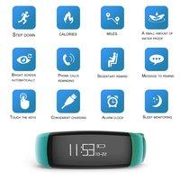 10 Bluetooth ремешок интеллектуальный цифровой Экран наручные часы модные уличные спортивные часы Health Monitor напоминание часы