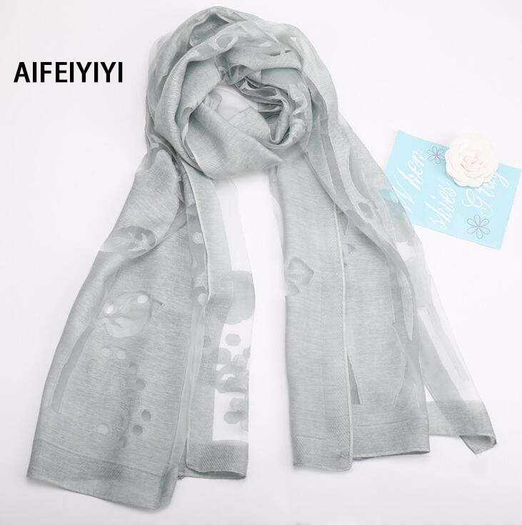 2018 Spring and Autumn Long Scarf Summer Print Scarf Wild Shawl Towel