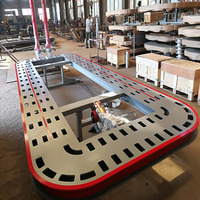 Good Conditional Car Frame Machine Car Body Crash Repair Frame Bench 2100/2200mm width Optional CE approved