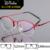 High-grade marca titanium óculos óculos meia-armação óculos de miopia homens e mulheres retro óculos redondos quadros 9911 prescrição óculos