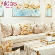 Avigers оранжевая грива лошадь европейские Чехлы для подушек квадратные декоративные подушки Чехлы для подушек для дивана гостиной спальни