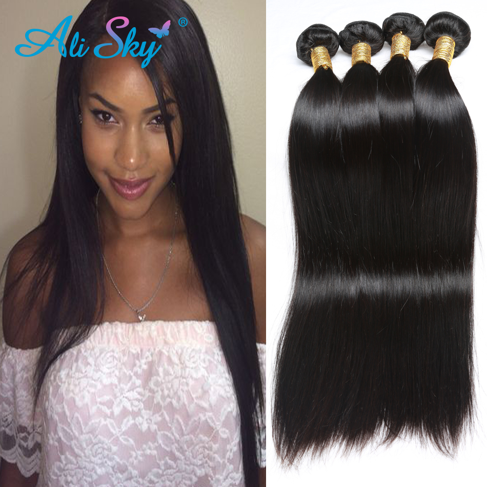 Aliexpress buy brazilian virgin hair straight 4pcslot 6a aliexpress buy brazilian virgin hair straight 4pcslot 6a straight brazilian hair weave bundles cheap hair extensions good weave hair online from pmusecretfo Image collections