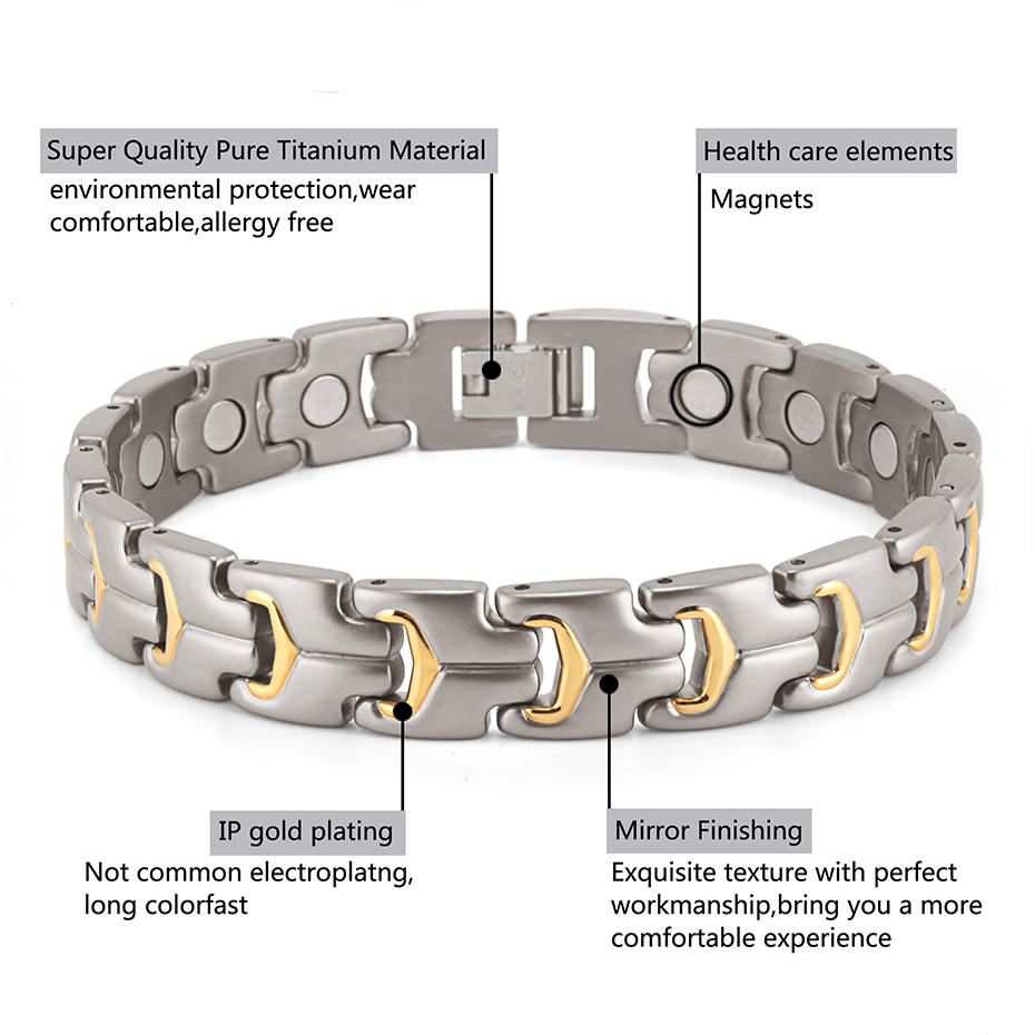 titanium bracelet for men and women (3)
