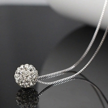 New 2016 Stylish Trend Shambhala Quick Chain 925 Sterling Silver Necklaces for Girls Sizzling Promote Jewellery Present