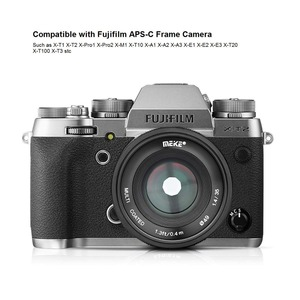 Image 3 - Meike 35mm f1.4 manuel odak lensi Sony e montaj için A7R A7S A6500 A7/Fuji X T2 X T3/ canon EOS M M6/M4/3 aynasız kamera + APS C