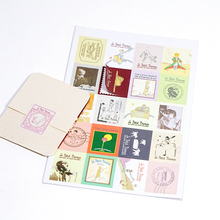 Vintage stamp stickers Little Prince/ OZ Doris/Alice Ver 1.0 &2.0 stickers journal stickers home deco