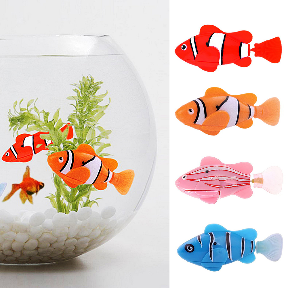Funny Fish Tank Decorations Compare Prices On Robot Fish Tank Online Shopping Buy Low Price