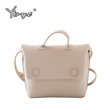 YBYT brand 2019 new hotsale joker leisure shoulder messenger crossbody bags fashion simple composite bag women pack