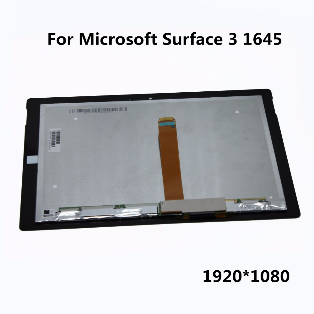 100% Original 10.8 inch LCD Display Panel Touch Screen Digitiser Assembly Replacement Repair Parts For Microsoft Surface 3 1645 touch screen lcd display for bluboo maya max 6 0 inch touch panel digitizer assembly replacement accessories repair tools