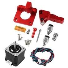 Aluminium Cr 10S Pro Ender 3 Btec Doppel Getriebe Pulley Extruder Upgrade + Für Cr 10S Pro Ender 3 Tornado Diy 3D Drucker teile