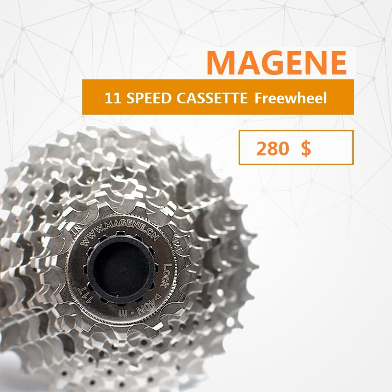 цена 11 Speed 11-28 Tooth Road Bike Cassette Freewheel S Freehub Magene Cycling Training Station Freewheel Bicycle Cassette Sprocket
