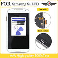 I9505 LCD Display for Galaxy S4 for Samsung Galaxy S4 i9500 i9505 i337 Display Touch Screen Digitizer Assembly With Frame+tools