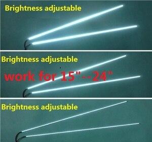 1 مجموعة = 7 $5 مجموعة = 22 $ تعديل ضوء led الخلفية كيت 540 ملليمتر ، والعمل ل 15