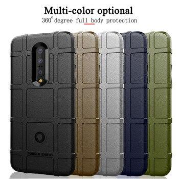 Funda armadura para Oneplus 7 Pro 6 6T protección militar escudo resistente funda de silicona para Oneplus 6T funda OnePlus 6