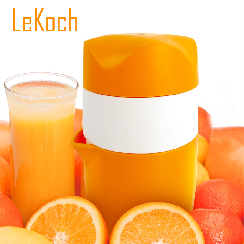 Orange Manual Juicer Convenient Fruit Tools Plastic Hand Manual Squeezer Orange Lemon Juice Press Reamer Citrus Juicer KT-1023